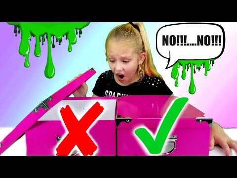 DON'T Choose The WRONG MYSTERY BOX Slime Challenge!!!