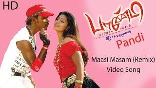 Masi Masam(Remix) Video Song - Pandi   Raghava Lawrence   Sneha   Srikanth Deva   Rasu Madhuravan