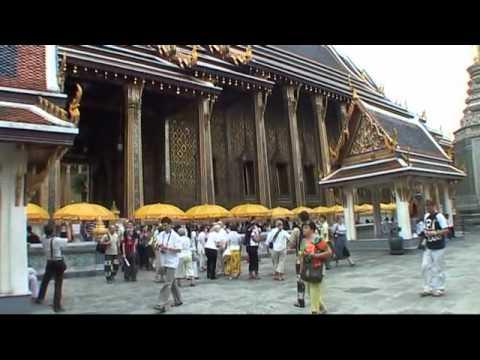 Tajlandia  -  Wat  Phra Kaeo  i   Wielki Pałac