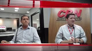 Entrevista CBN Campo Grande - Presidente da Câmara Municipal João Rocha