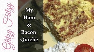 My Ham & Bacon Quiche Lorraine