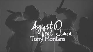 AGUST D ft. Jimin - TONY MONTANA 1 HOUR VERSION/1 HORA/ 1 시간