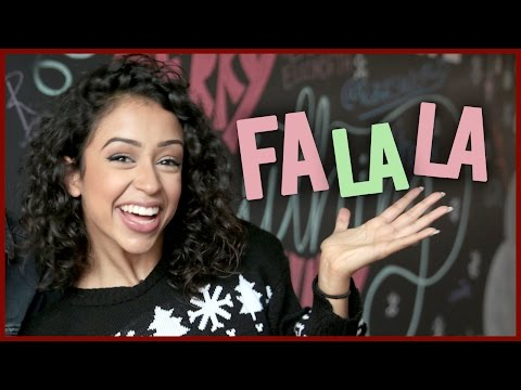 LIZA KOSHY SINGING CHRISTMAS SONGS!!