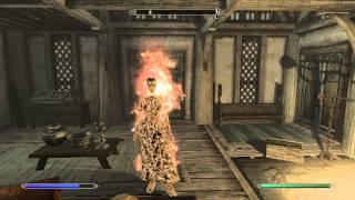 Flaming out teleportation spell - The Elder Scrolls V: Skyrim