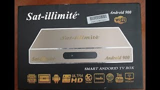 تقديم الجهاز الرائع TOUT SUR SMART ANDROID TV BOX-SAT-iLLiMiTé ANDROID 900
