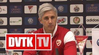 Vitelki Zoltán értékelése | DVSC - DVTK | 2017. március 4. | DVTK TV