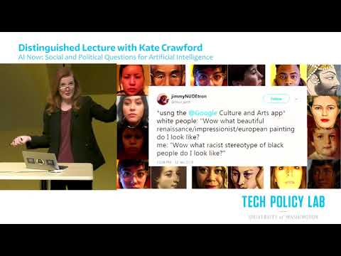 Kate Crawford | AI Now: Social and Political Questions for Artificial Intelligence