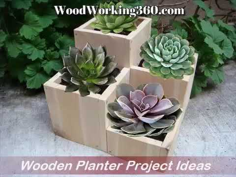 Wood Working Ideas  - Wood Planters   | Woodworking360 com