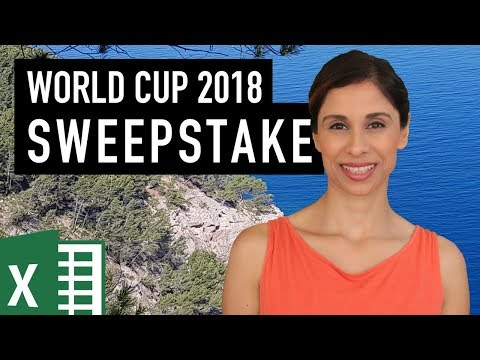 Pick the world cup 2020 teams sweepstake kit printable