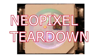 A Look at the Neopixel Controller Die Teardown