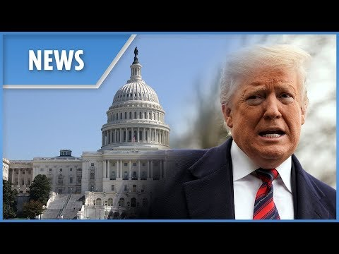 US President Donald Trump makes a 'major announcement' on the government shutdown