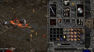 Diablo II Auradin build with skills and items by Kolbot Forever