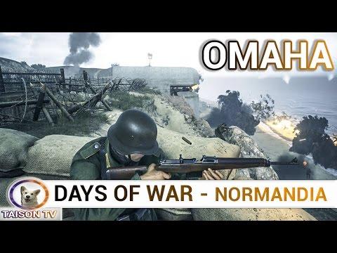 Days Of War OMAHA 1º como Alemán Defendiendo y después de Americano atacando.