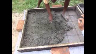 Production Process - Ferro cement Wall panel