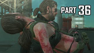 Metal Gear Solid 5 The Phantom Pain Walkthrough Part 36 - Chapter 2 (MGS5 Let