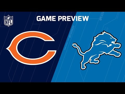 Bears vs. Lions (Week 14 Preview)   NFL Now