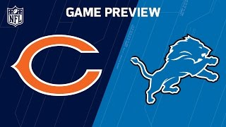 Bears vs. Lions (Week 14 Preview) | NFL Now