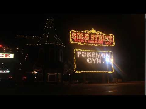 Gold Strike Hotel & Casino - POKEMON GO Billboard Sign (Jean, Nevada)