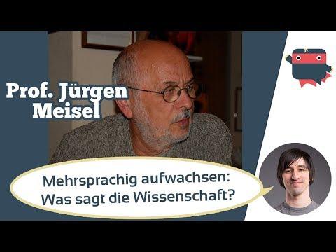 Kinder mehrsprachig erziehen? Wie alt sollten sie sein? Interview Sprachexperte Prof Jürgen Meisel