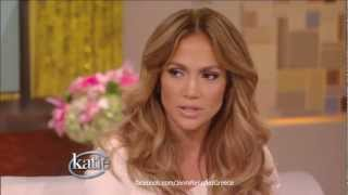 Jennifer Lopez on Idol Exit & New Judges - Katie Couric Show 14/9/12 HD