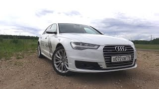 2017 Audi A6 C7 2.0 TFSI Quattro S tronic Тест-Драйв