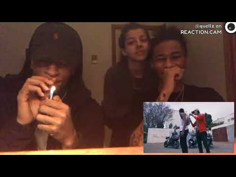TAGNE - BLAN ft MADD & 7LIWA ( Official Music Video ) REACTION VIDEO