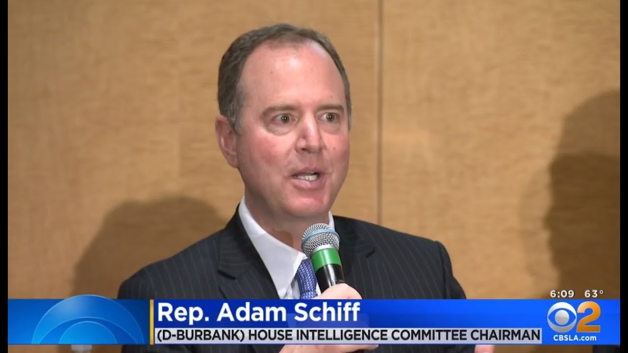 CBS Los Angeles: Rep  Schiff Joins SAG-AFTRA Members to Discuss
