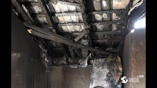 Locatarii blocului de pe strada Ion Creangă mistuit de incendiu așa