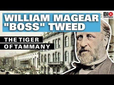 William Magear Boss Tweed: The Tiger Of Tammany