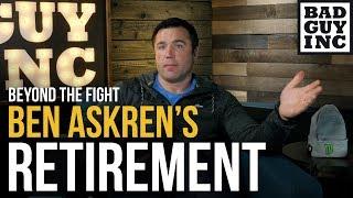 Ben Askren's retirement surprised me...