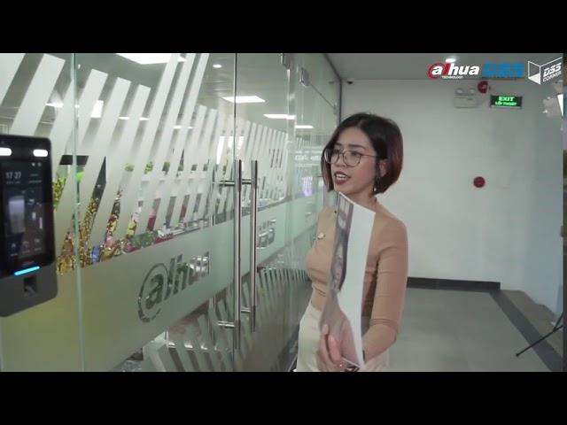 Video Demo Máy Chấm Công & Mở Cửa Bằng Gương Mặt Không Cần Chạm