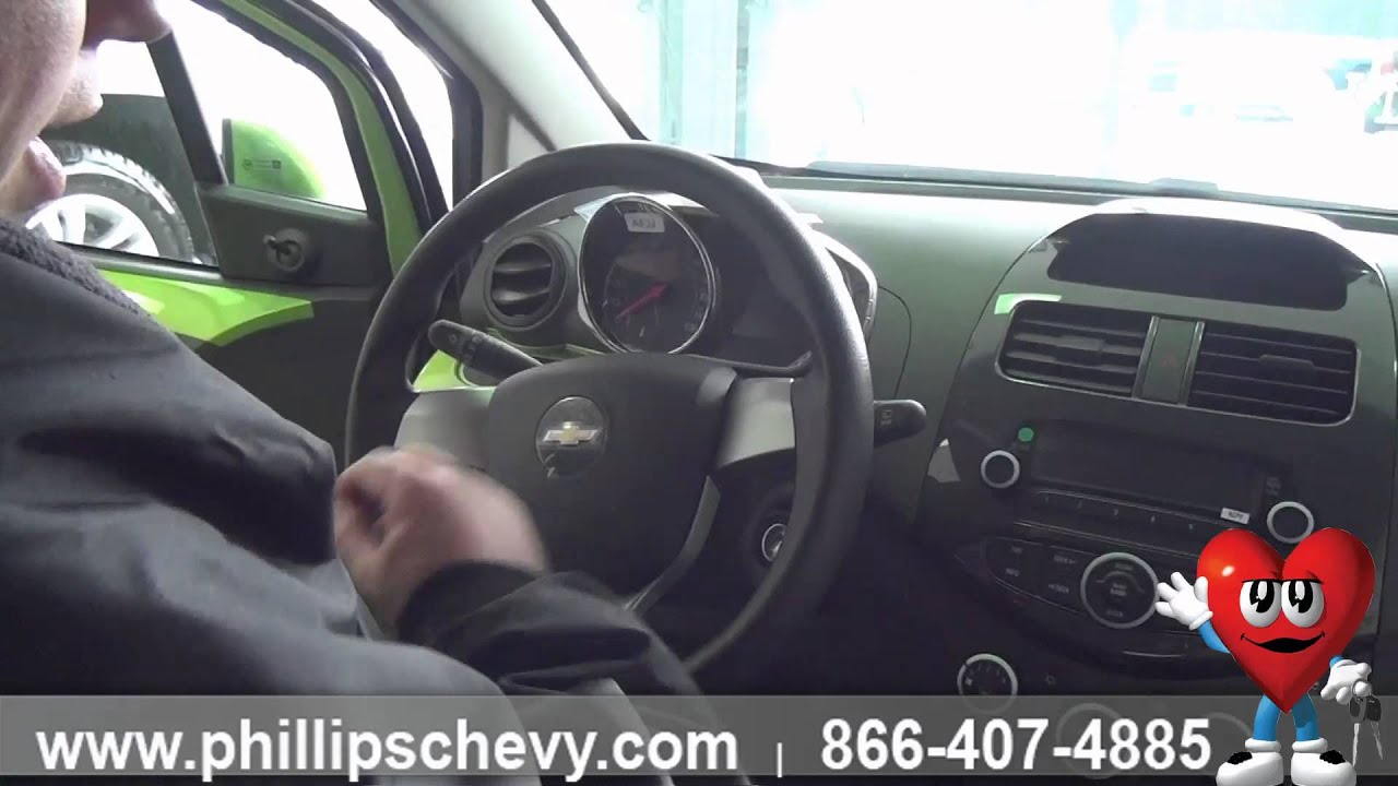 Phillips Chevrolet   2014 Chevy Spark   Interior Walk Around   Chicago New  Car Dealership Sales