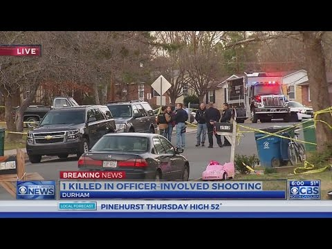 SBI investigates fatal Durham officer-involved shooting