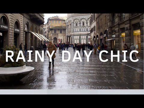 How To Look Chic In The Rain   Style Tips For Rainy Days