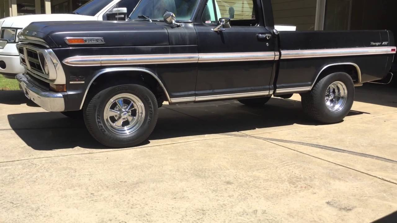 small resolution of 1971 ford f100 ranger xlt muscle truck with blueprint engines 347 stroker