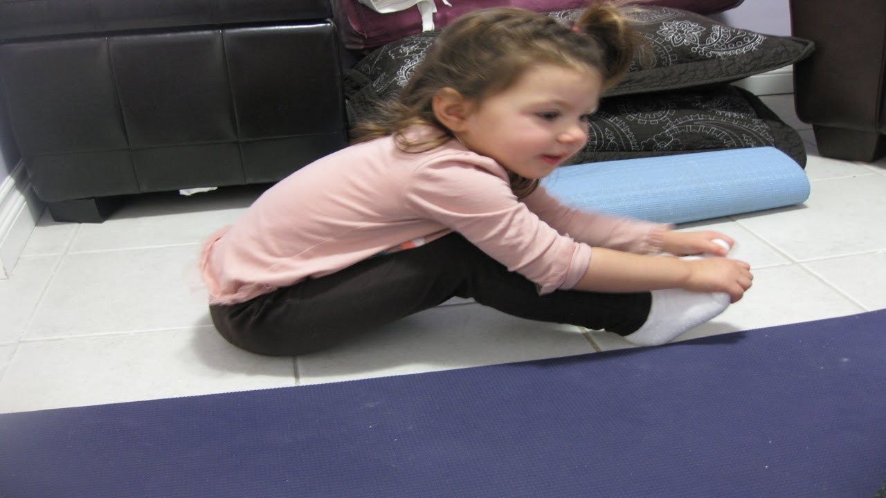 Paschimottanasana- Back Stretching Pose For Kids Fitness