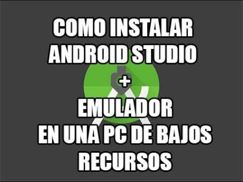 Instalando Android Studio + Emulador.