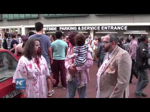 Halloween Party--Zombie walk Cape Town 2016