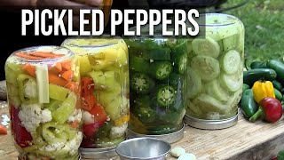 Easy Pepper Pickles recipe