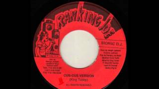 Instrumental/version Cuss Cuss Riddim [King Tubby/Ranking Joe - 1980-1990-198x] Riddim Classic