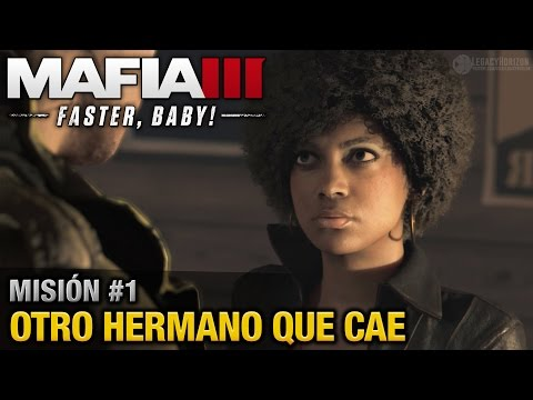 Mafia 3: ¡Más rápido! (DLC) - Misión #1 - Otro hermano que cae (Español / Sin Comentario - 60fps)