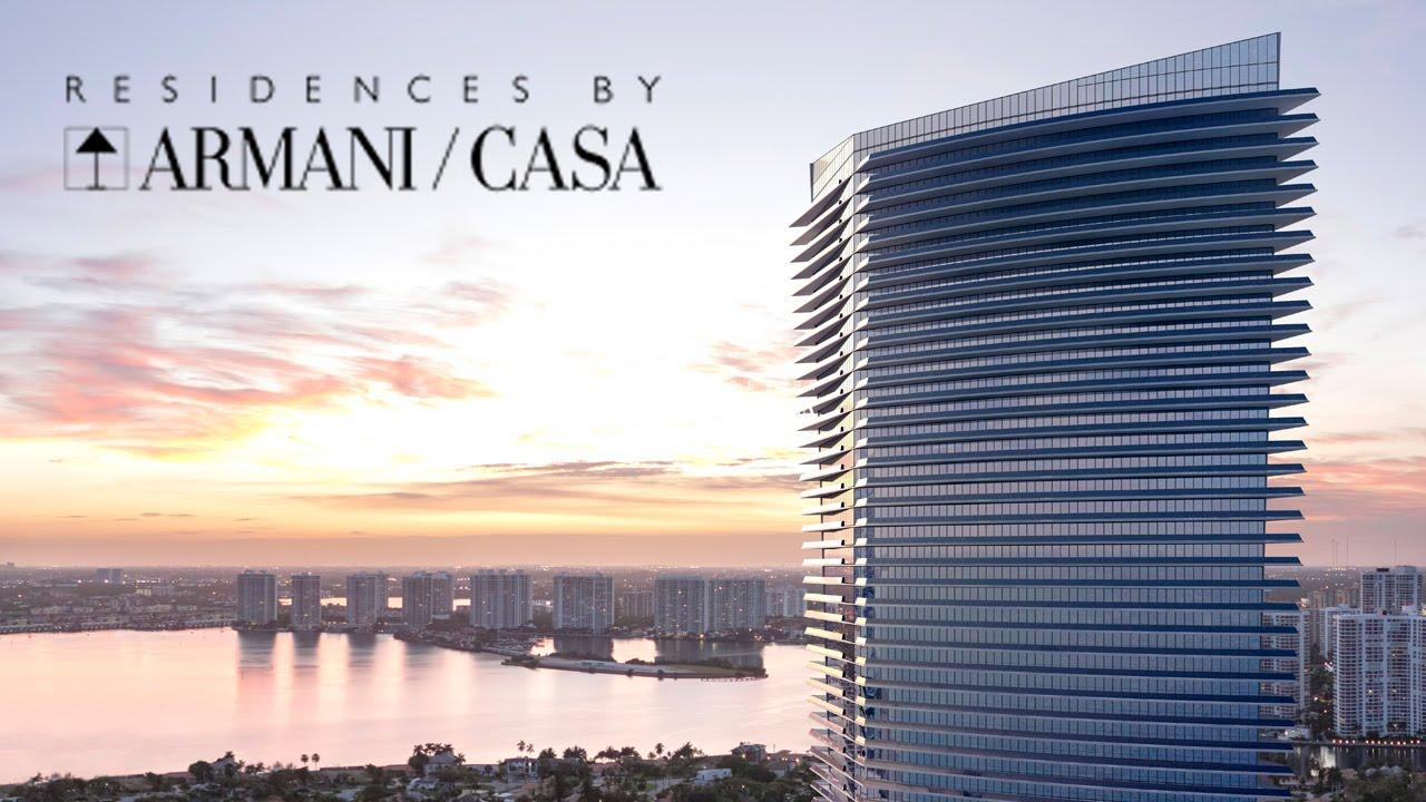 Armani Casa Residences Sunny Isles Miami