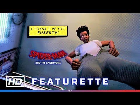 Spider-Man: Into the Spider-Verse – Miles Puberty Scene + Featurette [HD]