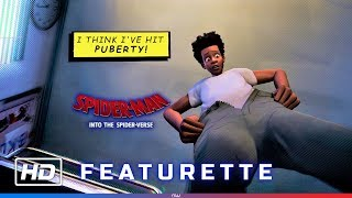 Spider-Man: Into the Spider-Verse - Miles Puberty Scene + Featurette [HD]