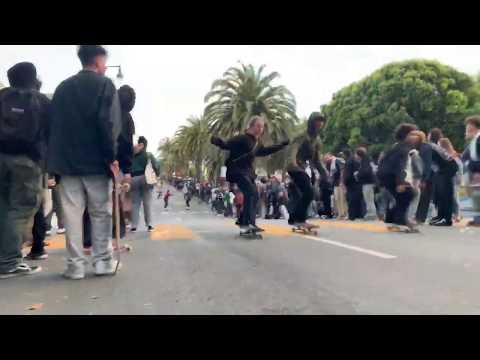 This Year's Dolores Park Hill Bomb Was Pure Carnage