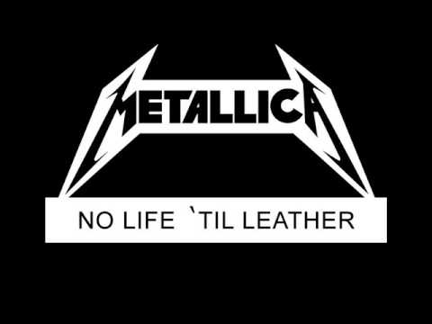 Metallica - No Life 'til Leather (1982) Full Demo + Bonus Track