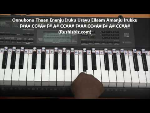 Elangaathu Veesudhey... (Piano Tutorials) - PITHAMAGAN | 1200 SONGS/PDF BOOK - 7013658813 - WHATSAPP