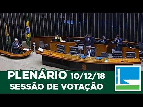 PLENÁRIO - Sessão Deliberativa - 10/12/2018 - 16:00