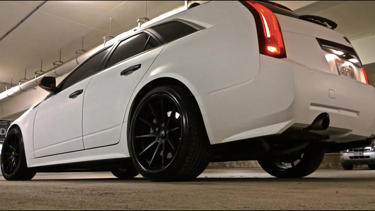 CADILLAC CTS 3.6DI AWD WAGON CUSTOM MAGNIFLOW EXHAUST - YouTube