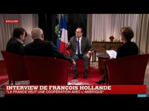 REPLAY - Watch the French President François Hollande exclusive interview